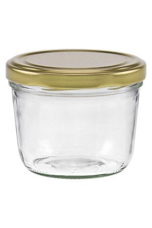 mikken 230 ml Sturzglas mit Schraubverschluss