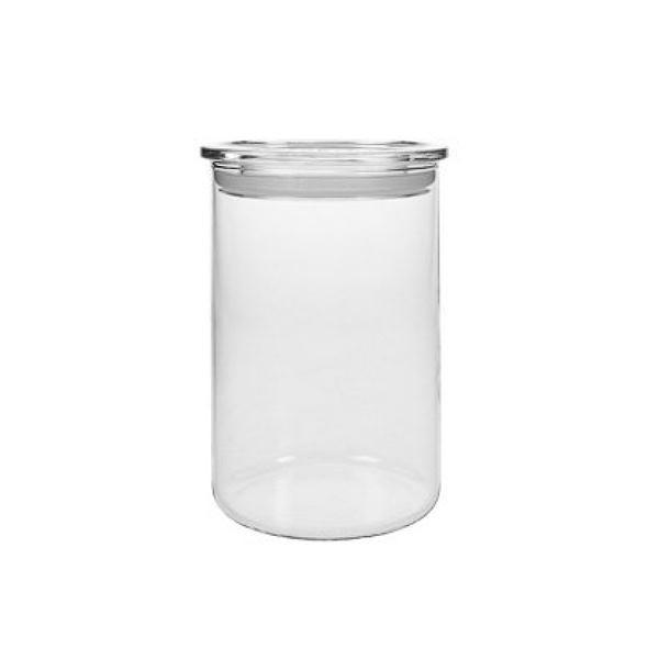 Vorratsglas 0,8 L Zylinderglas Vorratsdose Borosilikatglas Glas