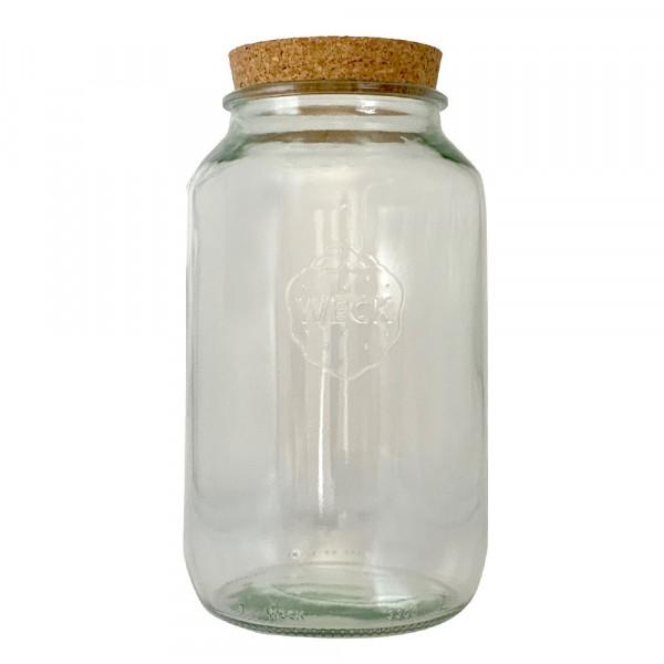 WECK Korkenglas 3000 ml Vorratsglas