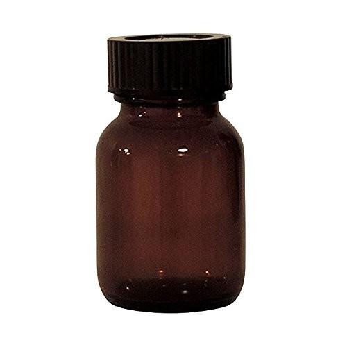 Braune Glasflasche 50 ml Weithalsflasche