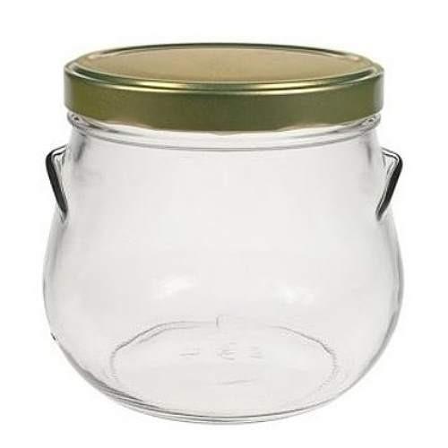 850 ml Einmachglas mit Schraubverschluss
