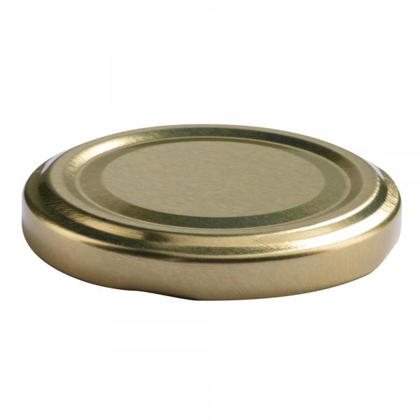 Twist-Off Deckel TO 58 gold pasteurisierbar