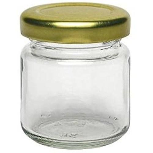 mikken 53 ml Mini Einmachglas mit Schraubverschluss