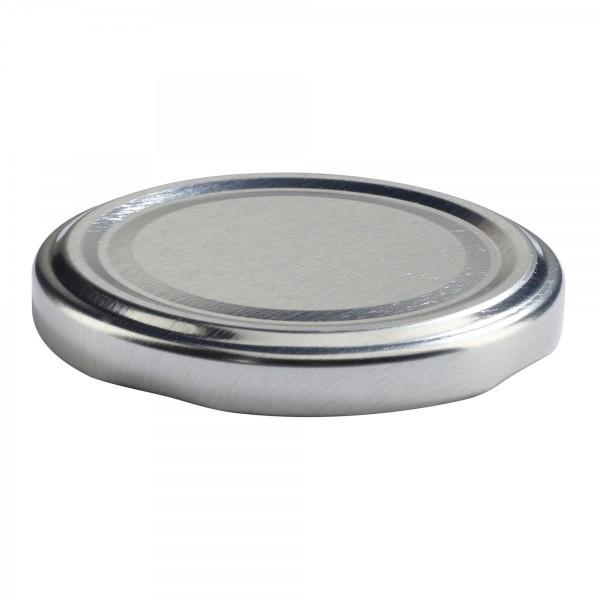 Twist-Off Deckel TO 63 silber sterilisierbar