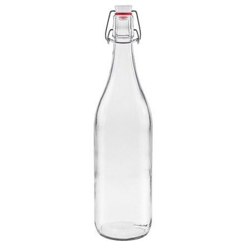 mikken Glasflasche 1000 ml mit Bügelverschluss