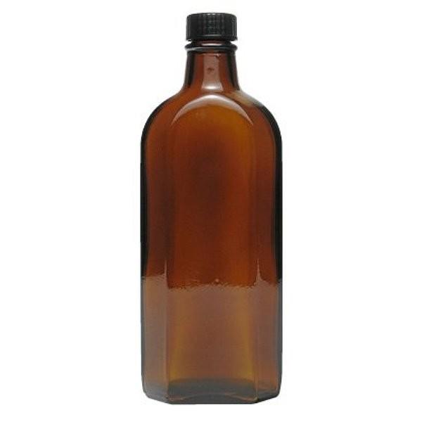 250 ml Meplatflasche Medizinflasche mit Schraubverschluss