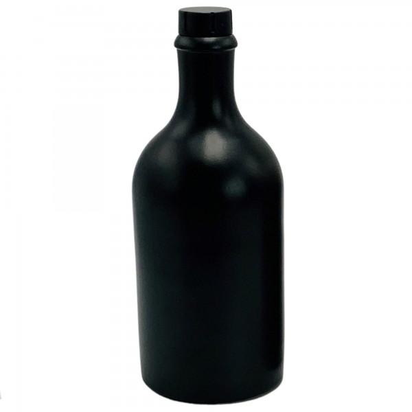 Keramikflasche schwarz 500 ml kaufen