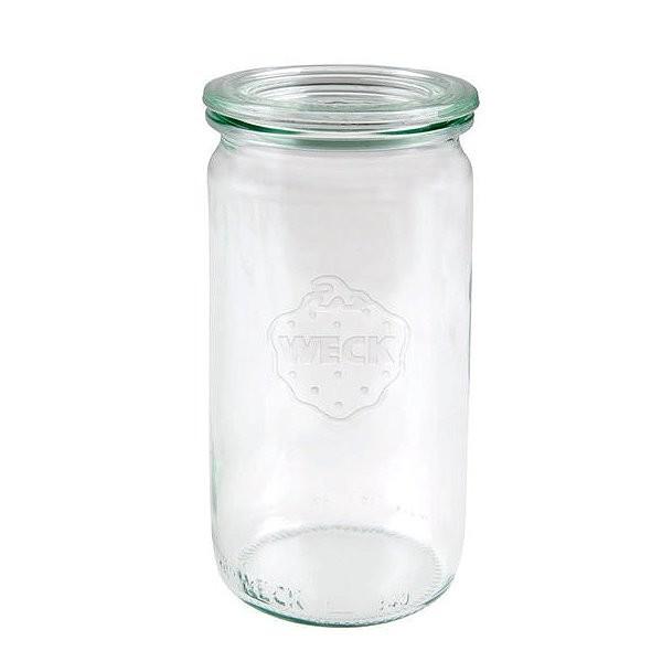 Weckglas Zylinderglas 340 ml mit Deckel