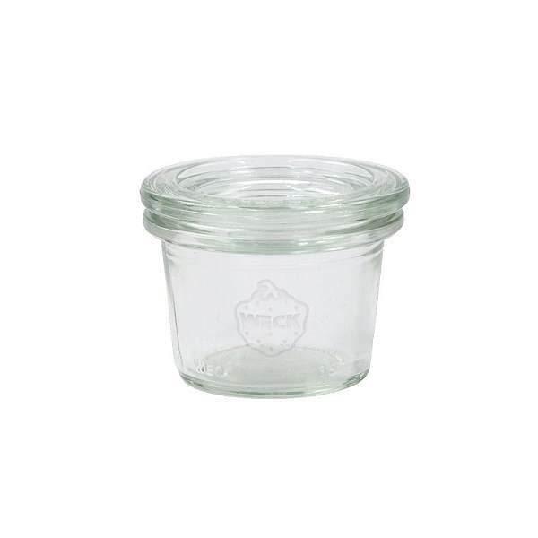 Weck Sturzglas 35 ml Mini-Sturzglas mit Deckel