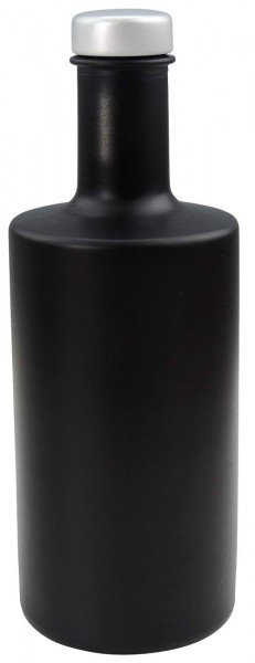 Glasflasche 350 ml schwarz Likörflasche Ölflasche mir Schraubverschluss kaufen