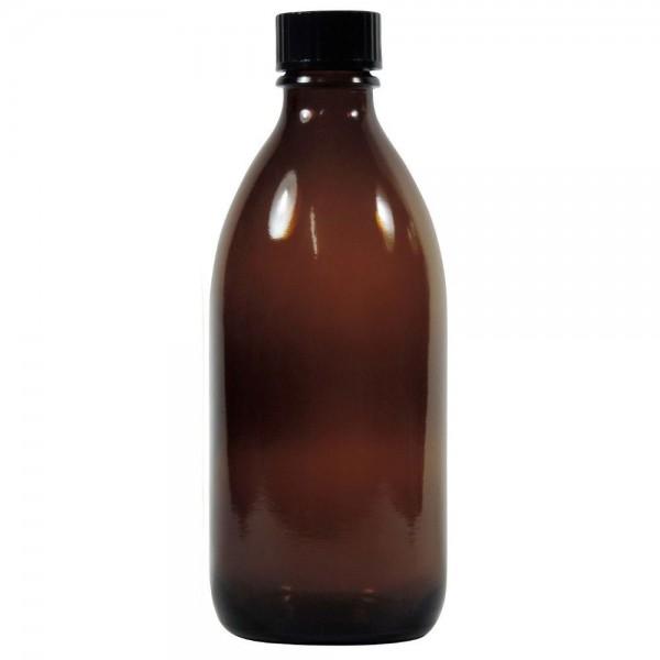 200 ml Enghalsflasche braune Apothekerflasche mit Schraubverschluss