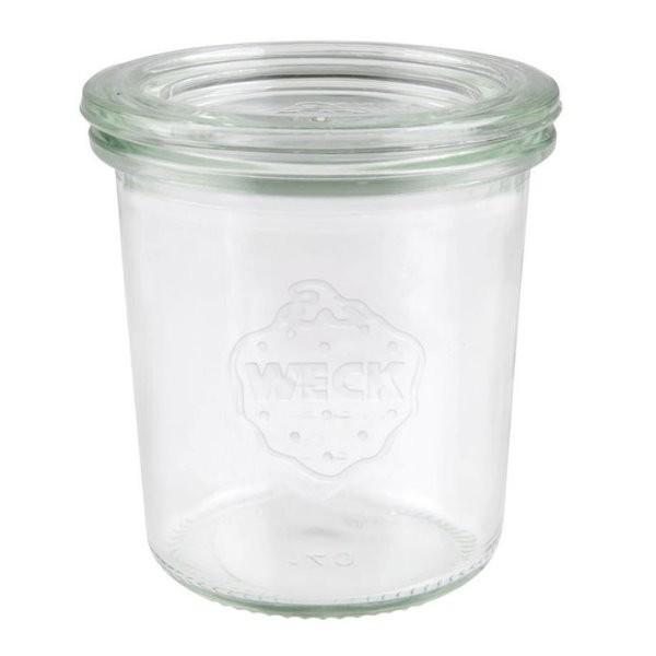 WECK Sturzglas 140 ml Einmachglas mit Deckel