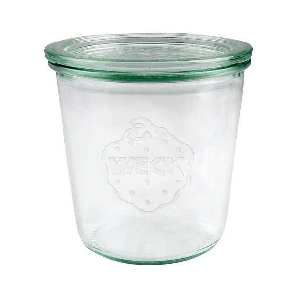 WECK Sturzglas 580 ml Einmachglas mit Deckel 1/2 Liter