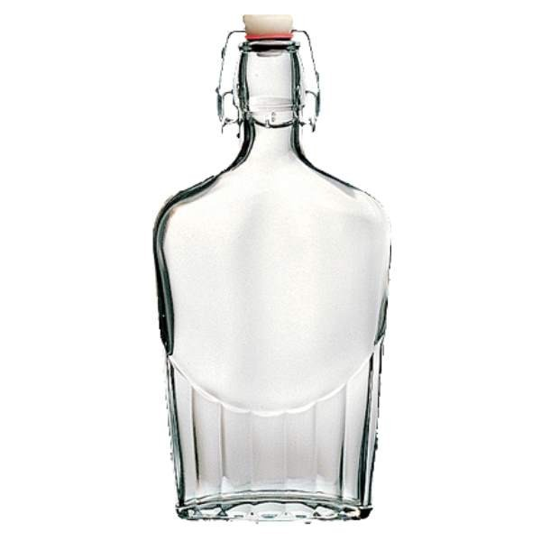 Bormioli Glasflasche 250 ml mit Bügelverschluss 2. Wahl