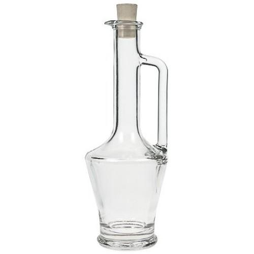 Glasflasche 250 ml Amphore mit Korken
