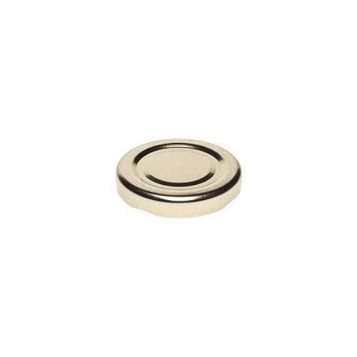 Twist-Off Deckel TO 48 Gold pasteurisierbar