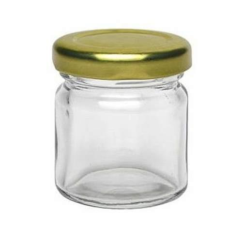 Einmachglas 37 ml Mini Rundglas