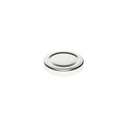 Twist-Off Deckel TO 48 Silber pasteurisierbar
