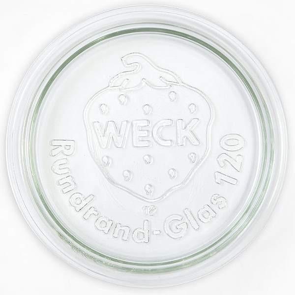 Weck Glasdeckel 12 cm Ersatzdeckel für Weckgläser