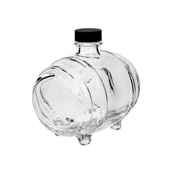 Glasflasche 500 ml Fässchen Likörflasche leer kaufen