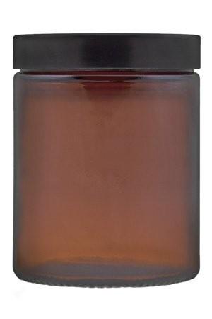 Cremetiegel 180 ml Tiegel Braunglas