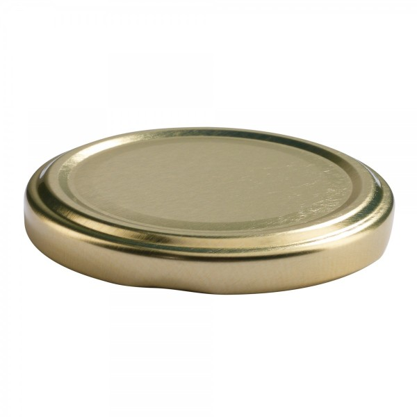 Twist-Off Deckel TO 66 Gold pasteurisierbar