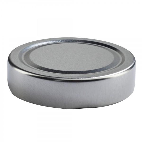 Twist-Off Deckel TO 66 Deep Silber pasteurisierbar