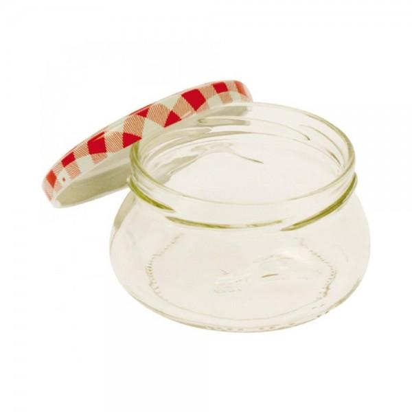 200 ml Einmachglas Marmeladenglas Wurstglas mit Schraubverschluss