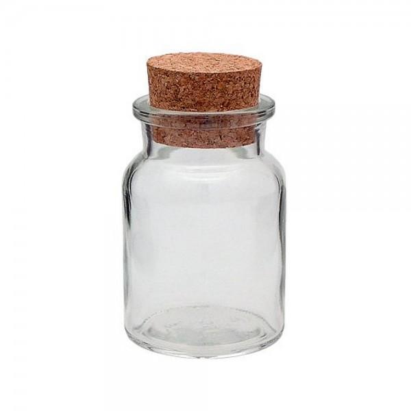 150 ml Gewürzgläser rund mit Korken Korkenglas 150 ml kaufen