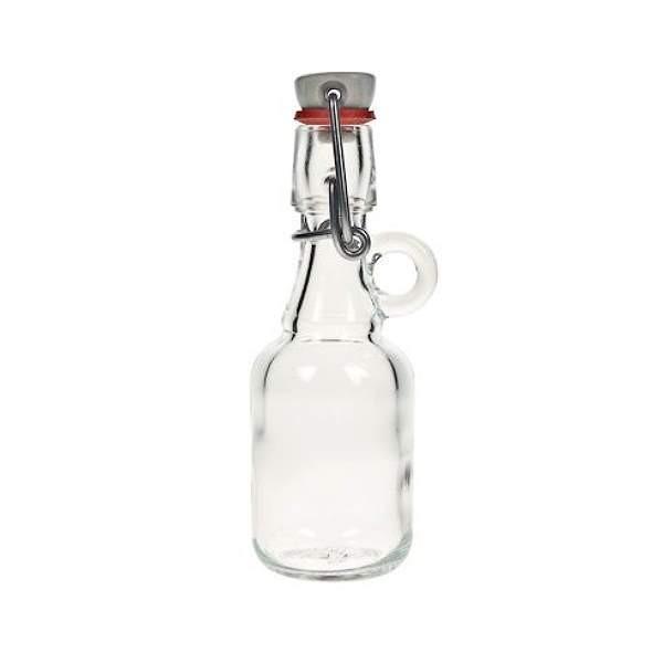 Mini Glasflasche 40 ml mit Bügelverschluss Bügelverschlussflasche