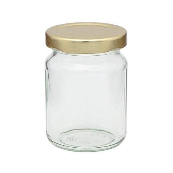143 ml Rundglas mit Schraubverschluss