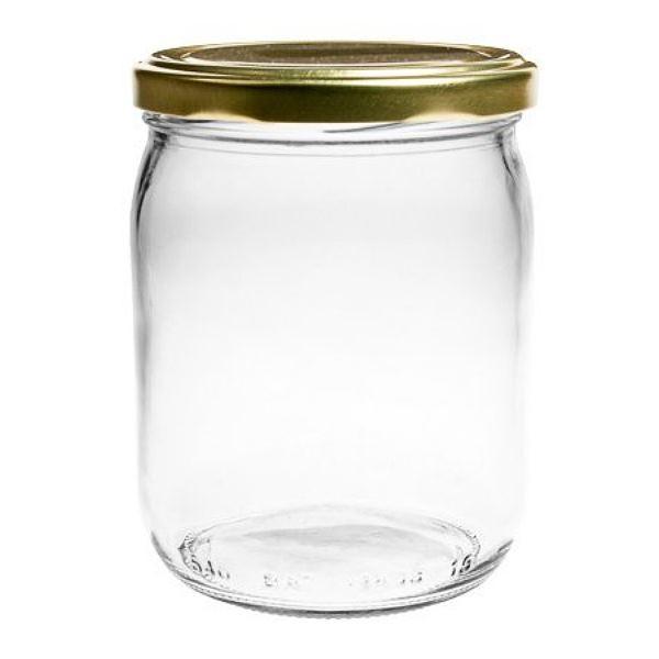 540 ml Einmachglas mit Schraubverschluss