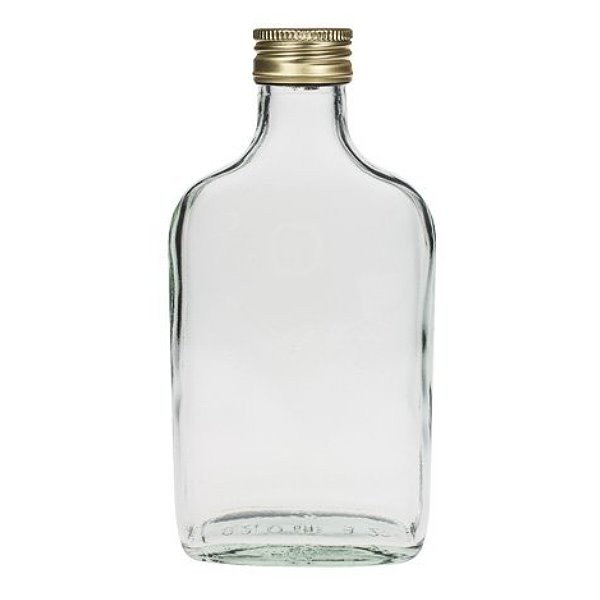 mikken Taschenflasche 200 ml mit Schraubverschluss