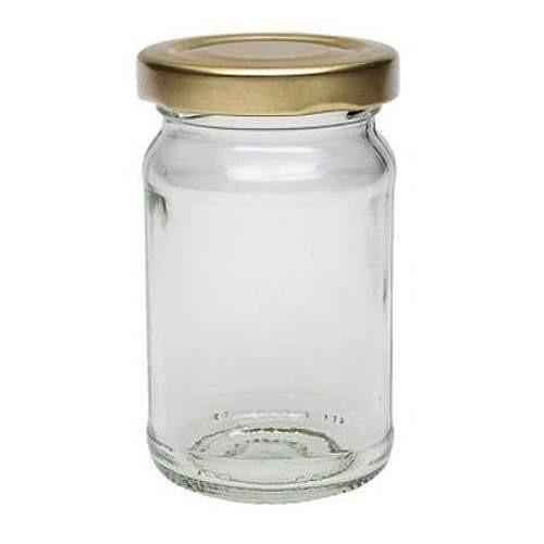 107 ml Einmachglas Marmeladengläser mit Schraubverschluss