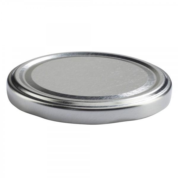 Twist-Off Deckel TO 82 Silber pasteurisierbar