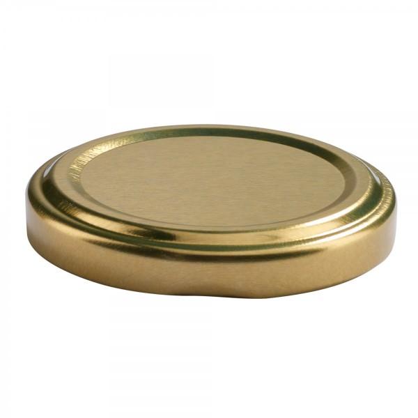 Twist-Off Deckel TO 53 Gold pasteurisierbar