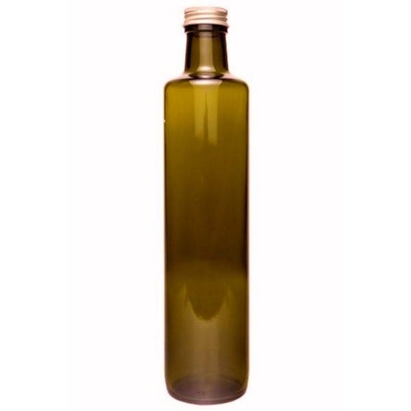 Ölflasche 500 ml Braune Flaschen für Öl Glasflasche braun mit Schraubverschluss kaufen