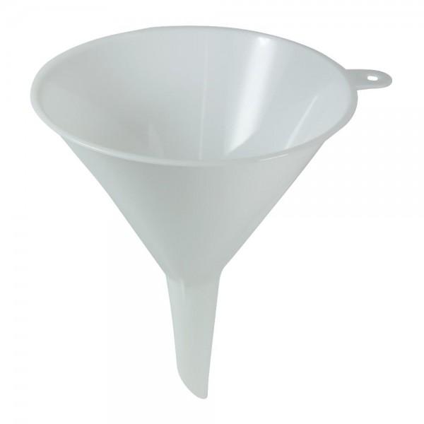 Trichter Ø 12 cm Weiß Kunststoff Einfülltrichter