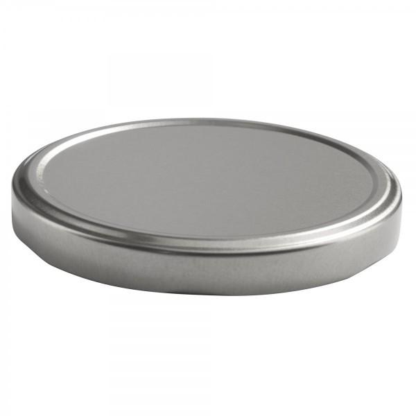 Twist-Off Deckel TO 100 Silber pasteurisierbar