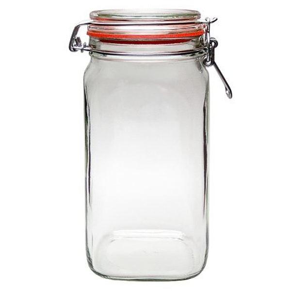 Mikken Vorratsglas 1,55 Liter mit Bügelverschluss