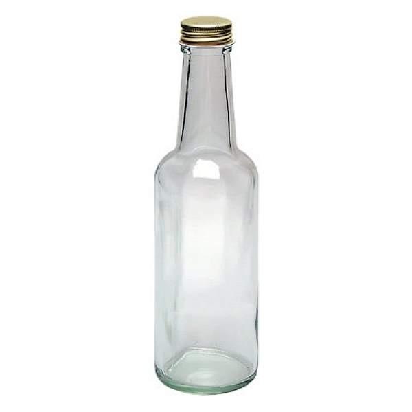Glasflasche 250 ml Likörflasche Saftflasche