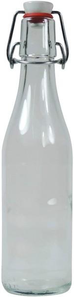 Glasflasche 330 ml mit Bügelverschluss