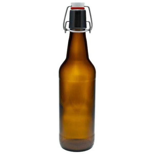 Bügelverschlussflasche 500 ml braun Bierflasche