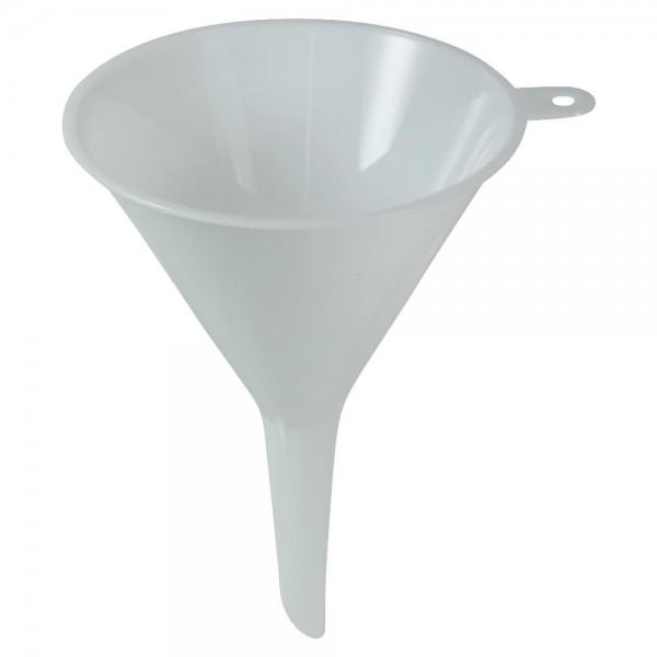 Trichter Ø 9 cm Weiß Kunststoff Einfülltrichter