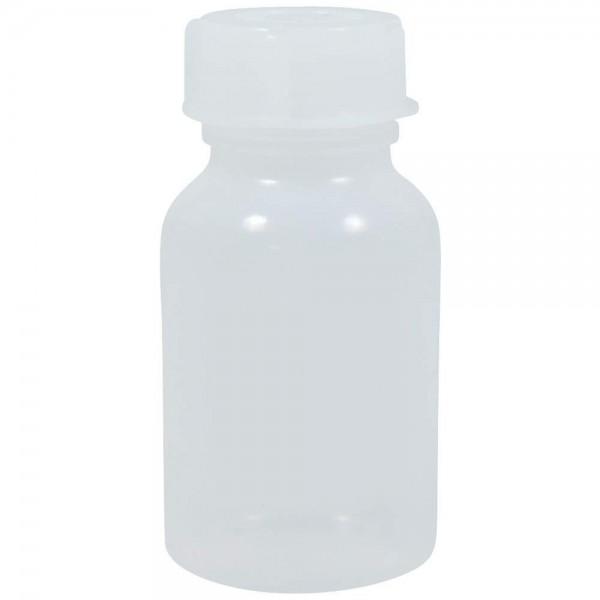 100 ml Weithalsflasche mit Schraubverschluss Kunststoff