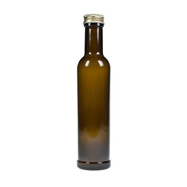 mikken Glasflasche braun 250 ml Ölflasche