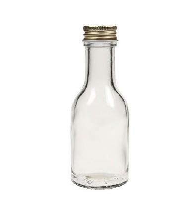 mikken Glasflasche 100 ml mit Schraubverschluss