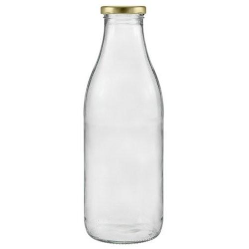 Milchflasche 1000 ml Saftflasche mit Schraubverschluss TO 48