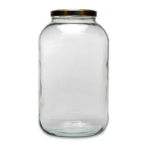 mikken 4,25 Liter Einmachglas mit Schraubverschluss