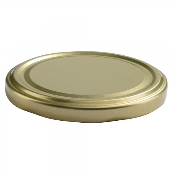 Twist-Off Deckel TO 82 Gold pasteurisierbar